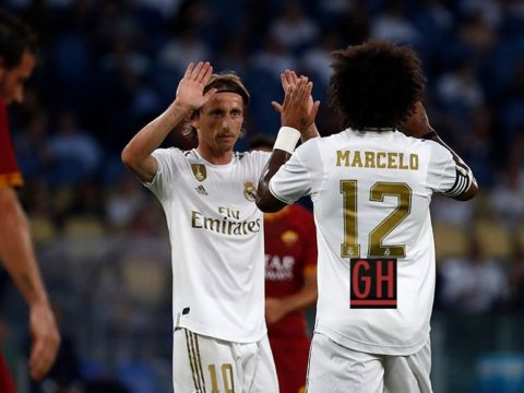 AS Roma 2-2 Real Madrid pen:(5-4)