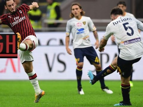 AC Milan 2-2 Lecce - Watch goals and highlights football Serie A 2019-2020