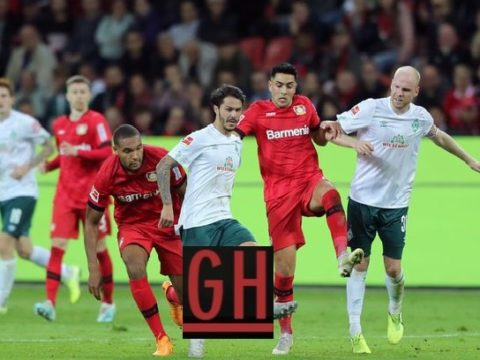 Bayer Leverkusen 2-2 Werder Bremen - Watch goals and highlights football BundesLiga 2019-2020