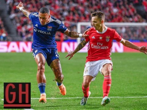Benfica 2-1 Lyon - Watch goals and highlights football UEFA Champions League 2019-2020