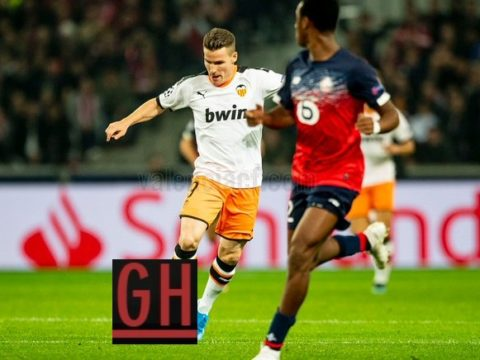 Lille 1-1 Valencia - Watch goals and highlights football UEFA Champions League 2019-2020