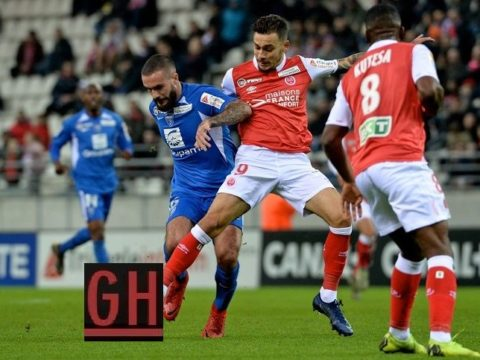 Reims 2-1 Bourg-Peronnas - Watch goals and highlights football Coupe de la Ligue 2019-2020