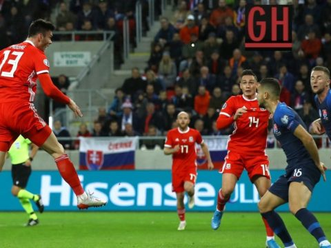 Slovakia 1-1 Wales - Watch goals and highlights football EURO 2020 Qualifiers