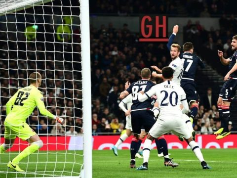 Tottenham 5-0 Red Star Belgrade - Watch goals and highlights football UEFA Champions League 2019-2020