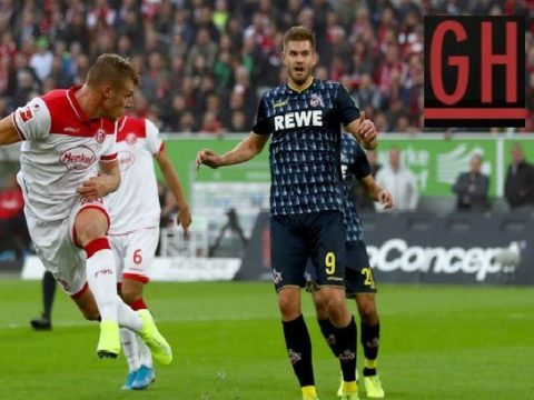 Dusseldorf 2-0 Koln - Watch goals and highlights football BundesLiga 2019-2020
