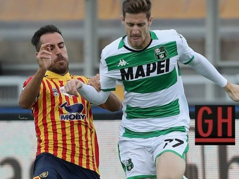 Lecce 2-2 Sassuolo - Watch goals and highlights football Serie A 2019-2020