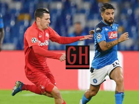 Napoli 1-1 Salzburg - Watch goals and highlights football UEFA Champions League 2019-2020