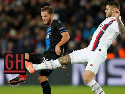 PSG 1-0 Club Bruges - Watch goals and highlights football UEFA Champions League 2019-2020