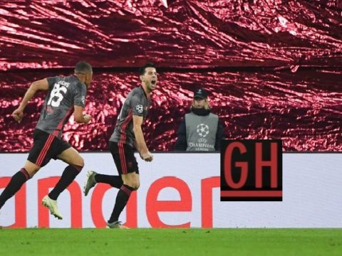 RB Leipzig 2-2 Benfica - Watch goals and highlights football UEFA Champions League 2019-2020