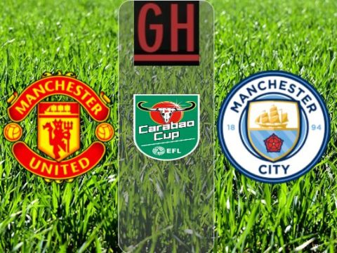 Manchester United vs Manchester City - Carabao Cup 2019-2020 footballgh.org