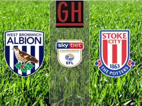 West Bromwich vs Stoke - Championship 2019-2020 footballgh.org