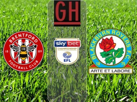 Brentford vs Blackburn - Championship 2019-2020 footballgh.org