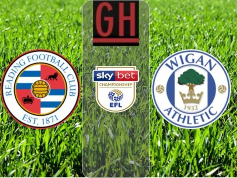 Reading 0-3 Wigan - Championship 2019-2020 footballgh.org