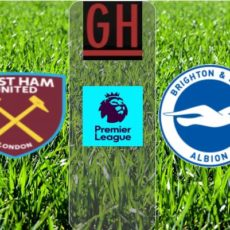 West Ham vs Brighton - Premier League 2019-2020 footballgh.org