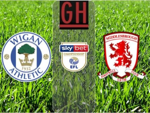 Wigan vs Middlesbrough - Championship 2019-2020 footballgh.org