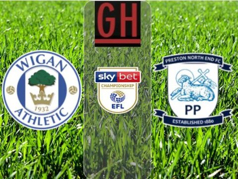 Wigan vs Preston - Championship 2019-2020 footballgh.org