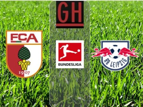 Augsburg vs RB Leipzig - Watch goals and highlights football BundesLiga 2019-2020