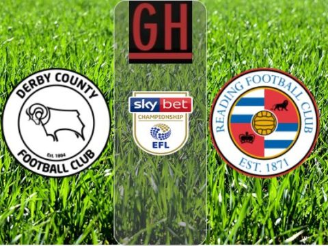 Derby vs Reading - Watch goals and highlights football Championship 2019-2020