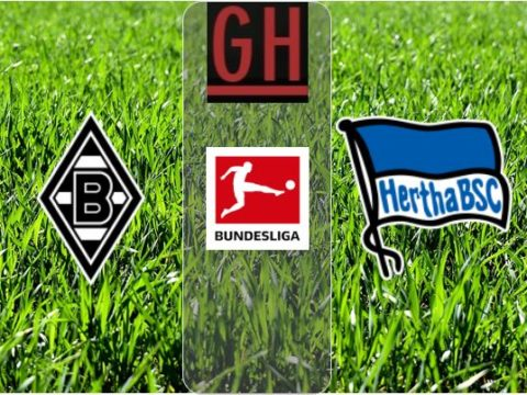 Monchengladbach vs Hertha Berlin - Watch goals and highlights football BundesLiga 2019-2020