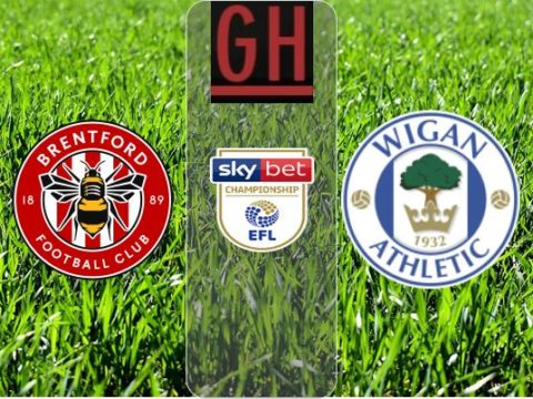 Brentford vs Wigan - Watch goals and highlights football Championship 2019-2020