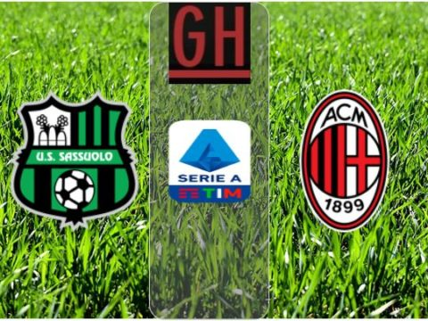 Sassuolo vs AC Milan - Watch goals and highlights football Serie A 2019-2020