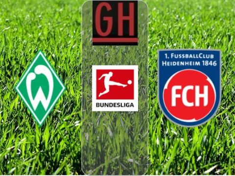 Werder Bremen vs FC Heidenheim - Watch goals and highlights football BundesLiga 2019-2020