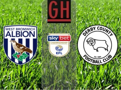 West Bromwich vs Derby - Watch goals and highlights football Championship 2019-2020