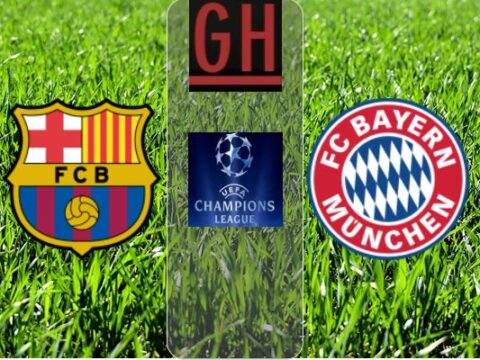 FC Barcelona vs Bayern Munich - Watch goals and highlights football UEFA Champions League 2019-2020